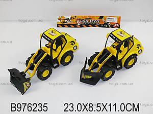 Игрушка «Трактор», 2 вида, 938A