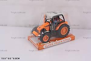 Игрушка «Трактор», инерционная, 39001