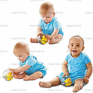Игрушка «Утенок в шаре», 75676, фото