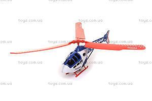 Игрушка «Вертолет», с пусковым механизмом, 568-1, фото