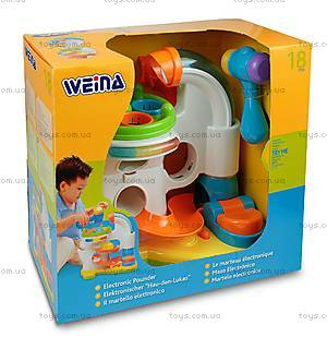 Игрушка Weina «Электронный молоток», 2008