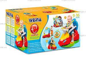Игрушка Weina машинка-каталка «Делюкс», 2133, цена