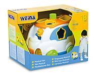 Игрушка Weina «Музыкальный микроавтобус», 2071, тойс