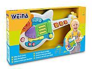 Игрушка Weina «Рок-гитара», 2099, магазин игрушек
