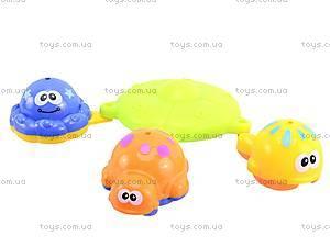 Игрушки для купания «Рыбки», 8818, фото