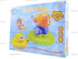 Игрушки для купания «Рыбки», 8818