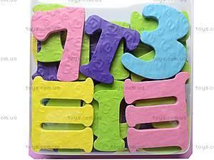 Игрушки для ванной «Алфавит и цифры», 091113, купить