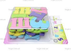 Игрушки для ванной «Алфавит и цифры», 091113, фото
