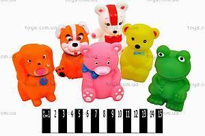 Игрушки-пищалки «Животные», K8129