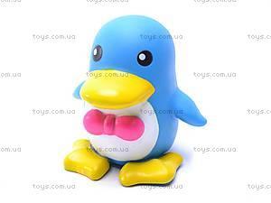 Игрушки-пищалки «Пингвин с пингвинятами», S138X4, фото