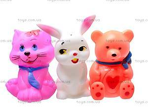 Игрушки-пищалки «Звери», V9828, купить