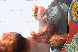 Игрушки резиновые «Дикие животные», НВХ605/6, цена