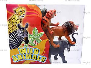 Игрушки резиновые «Дикие животные», НВХ605/6, игрушки
