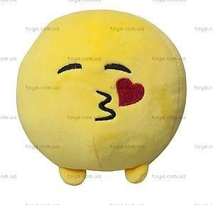 Мягкая игрушка «Смайлик Поцелуйчик», 40057
