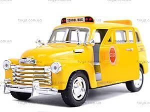 Инерц. машина Chevrolet Suburban School Bus 1950, KT5005W, toys.com.ua