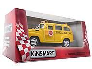 Инерц. машина Chevrolet Suburban School Bus 1950, KT5005W, фото