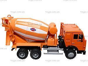 Инерционная бетономешалка, оранжевая, 9117A, купить