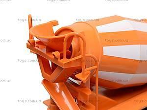 Инерционная бетономешалка, оранжевая, 9117A, фото