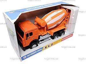 Инерционная бетономешалка, оранжевая, 9117A