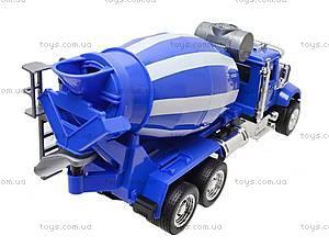 Инерционная бетономешалка (синий цвет), 9462B, игрушки