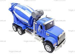 Инерционная бетономешалка (синий цвет), 9462B, магазин игрушек
