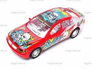 Инерционная детская гоночная машинка, YD911