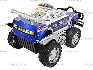 Инерционная детская машина «Полиция», 5288-2, фото