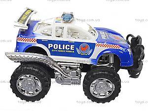 Инерционная детская машина «Полиция», 5288-2, цена