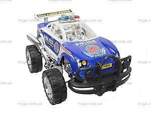 Инерционная детская машина «Полиция», 5288-2, детские игрушки