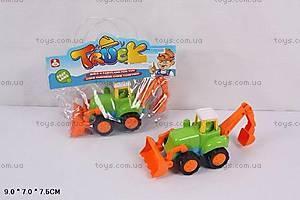 Инерционная игрушка «Трактор», 917