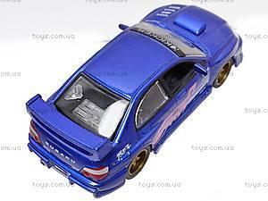 Инерционная машина 1:50 Subaru Impreza WRX, 6004, купить