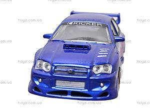 Инерционная машина 1:50 Subaru Impreza WRX, 6004, фото