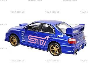 Инерционная машина 1:50 Subaru Impreza WRX, 6004, цена