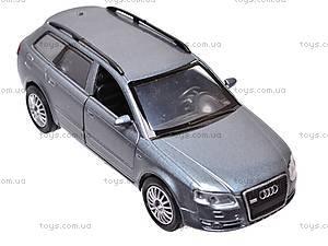 Инерционная машина Audi A4 Avant, 51983, отзывы