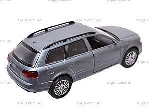 Инерционная машина Audi A4 Avant, 51983, игрушки