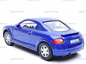 Инерционная машина Audi TT Coupe, KT5016W, фото