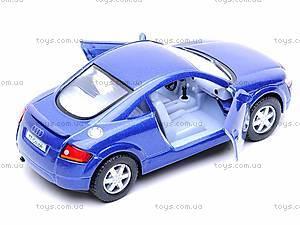 Инерционная машина Audi TT Coupe, KT5016W, игрушки