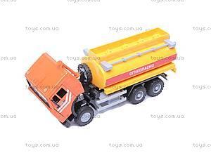 Инерционная машина «Бензин» желтая, 9118D, отзывы