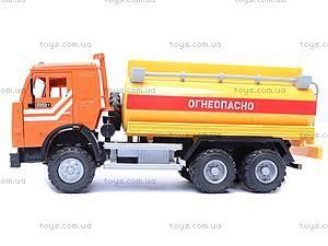 Инерционная машина «Бензин» желтая, 9118D, цена