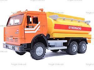 Инерционная машина «Бензин» желтая, 9118D