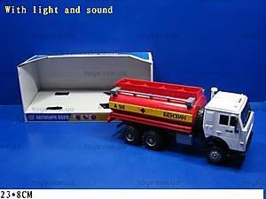 Инерционная машина «Бензин» красная, 9118C, купить