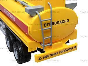 Инерционная машина «Бензин» оранжевая , 9118B, купить