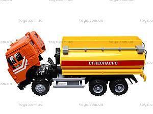 Инерционная машина «Бензин» оранжевая , 9118B, цена