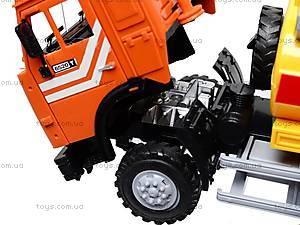 Инерционная машина «Бензин» оранжевая , 9118B, игрушки