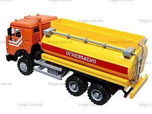 Инерционная машина «Бензин» оранжевая , 9118B, детские игрушки