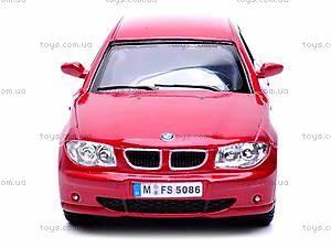 Инерционная машина BMW 1 Series, KT5086W, отзывы