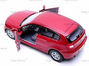 Инерционная машина BMW 1 Series, KT5086W, игрушки