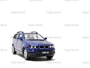 Инерционная машина BMW X5, KT5020W, toys