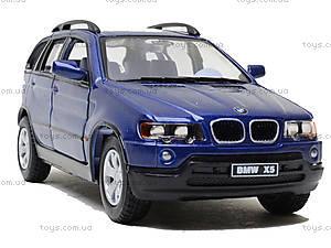 Инерционная машина BMW X5, KT5020W, іграшки