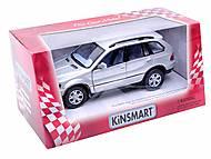 Инерционная машина BMW X5, KT5020W, детские игрушки
